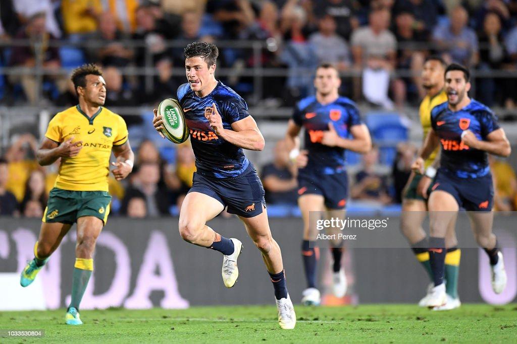 Australia v Argentina - The Rugby Championship : News Photo