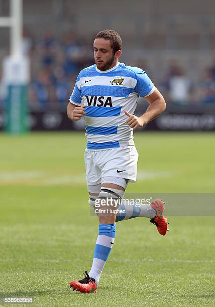 Bautista Stavile Bravin of Argentina during the World Rugby U20 Championship match at the AJ Bell Stadium on June 7 2016 in Salford England