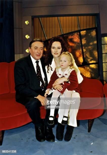 Bauunternehmer Politiker Österreich mit Ehefrau Christina und Tochter Jaqueline