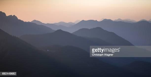 bavaria alps - herzogstand - beschaulichkeit stock pictures, royalty-free photos & images