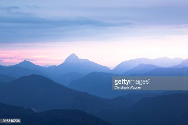 bavaria alps - herzogstand - mountain stock pictures, royalty-free photos & images
