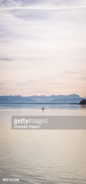 Bavaria Alps - Rowing