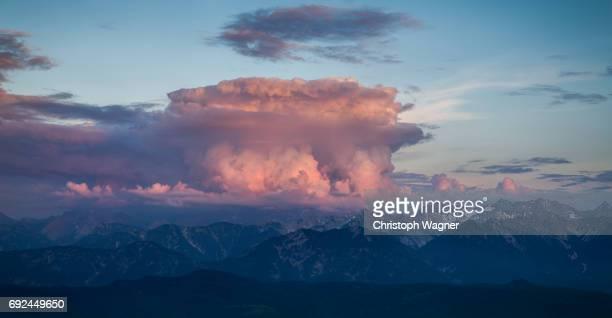 Bavaria Alps - Unwetter
