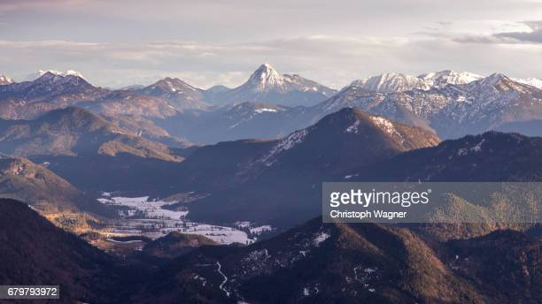 bavaria alps - wettersteingebirge - beschaulichkeit stock pictures, royalty-free photos & images