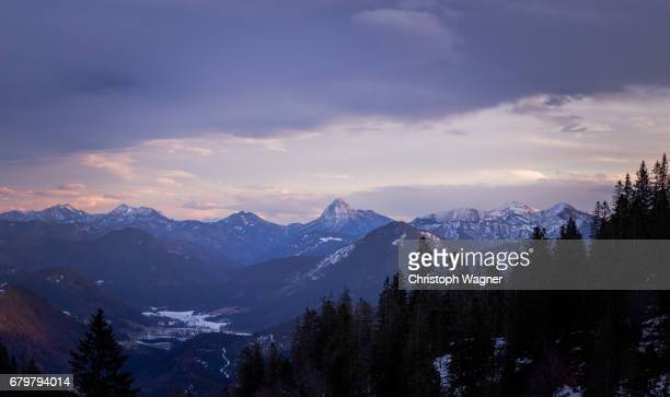 bavaria alps - wettersteingebirge - traumhaft stock pictures, royalty-free photos & images