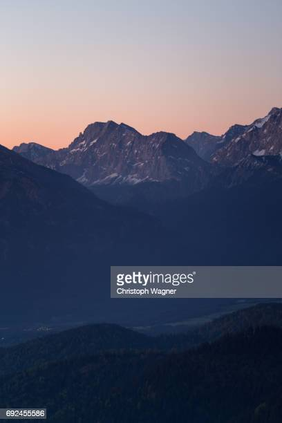 bavaria alps - wettersteingebirge - beschaulichkeit stock pictures, royalty-free photos & images