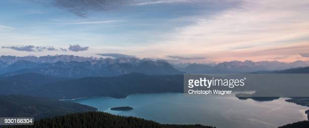 bavaria alps - wettersteingebirge - bavarian alps stock pictures, royalty-free photos & images