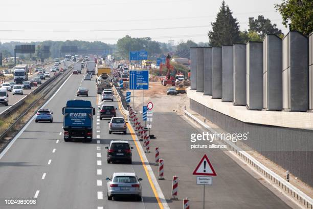 The A73 motorway runs along a noise barrier next to a residential area Despite new noise barriers according to the residents in this section it will...