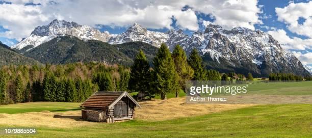 Bavarian alpine landscape, Germany, Europe