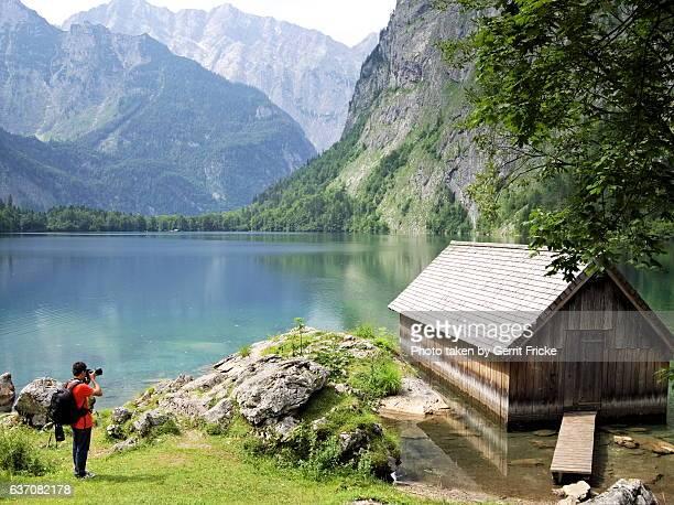 bavarian alps, berchtesgaden - berchtesgaden alps stock photos and pictures