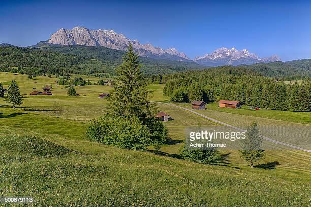 bavarian alps - achim thomae stock-fotos und bilder