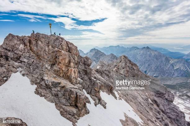 Bavarian Alps Zugspitze Summit