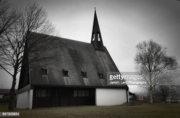 bavarian church - steeping stock pictures, royalty-free photos & images