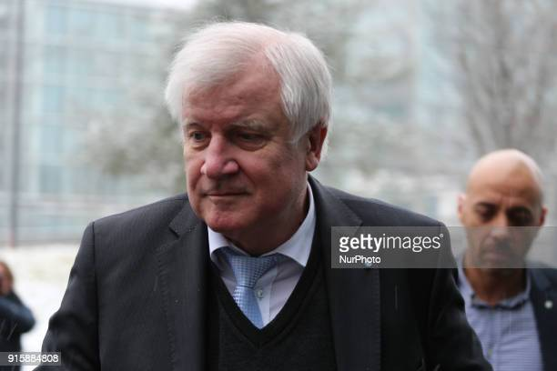 Bavarian governor and CSU chairman Horst Seehofer is seen in the picture in Munich Germany on February 8 2018 He will be the next minister of...