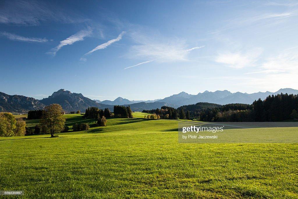 Bavarian Landscape : Stock-Foto