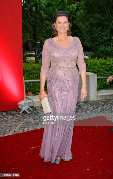 Bavarian Minister for Economic Affairs Ilse Aigner attend the Bayerischer Fernsehpreis 2017 at Prinzregententheater on May 19 2017 in Munich Germany