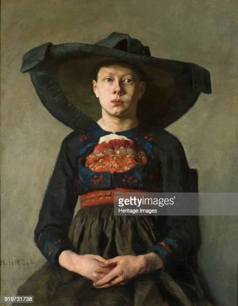 A Bavarian Peasant Girl 18851887 Found in the Collection of Nationalmuseum Stockholm