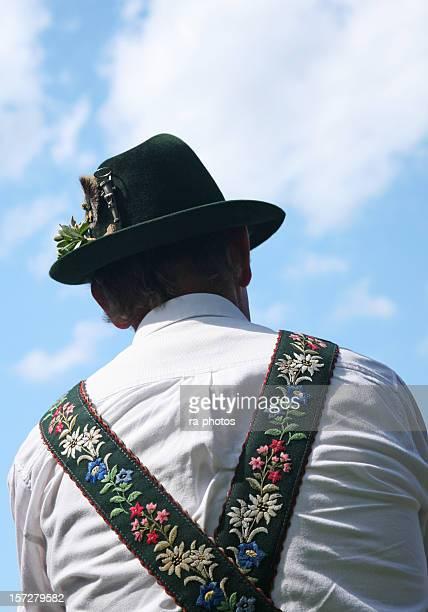 bayerische - traditionelle kleidung stock-fotos und bilder