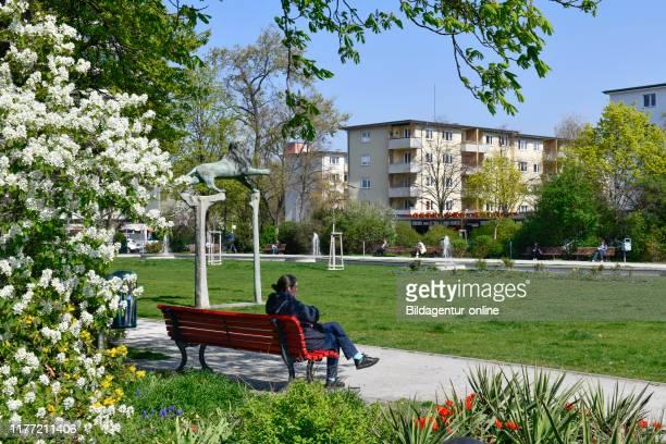 Bavarian place, beauty's mountain, Berlin, Germany, Bayerischer Platz, Schoeneberg, Germany.