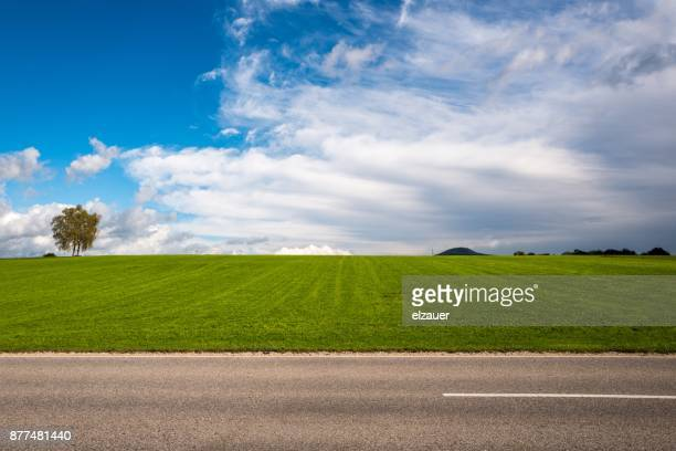 bavarian road - roadside stock pictures, royalty-free photos & images