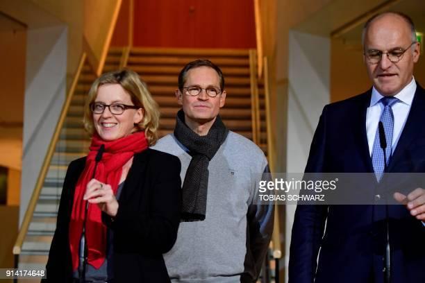 Bavarian Social Democratic Party chairwoman Natascha Kohnen to Berlin's mayor Michael Mueller Mayor of Augsburg and Christian Democratic Union...