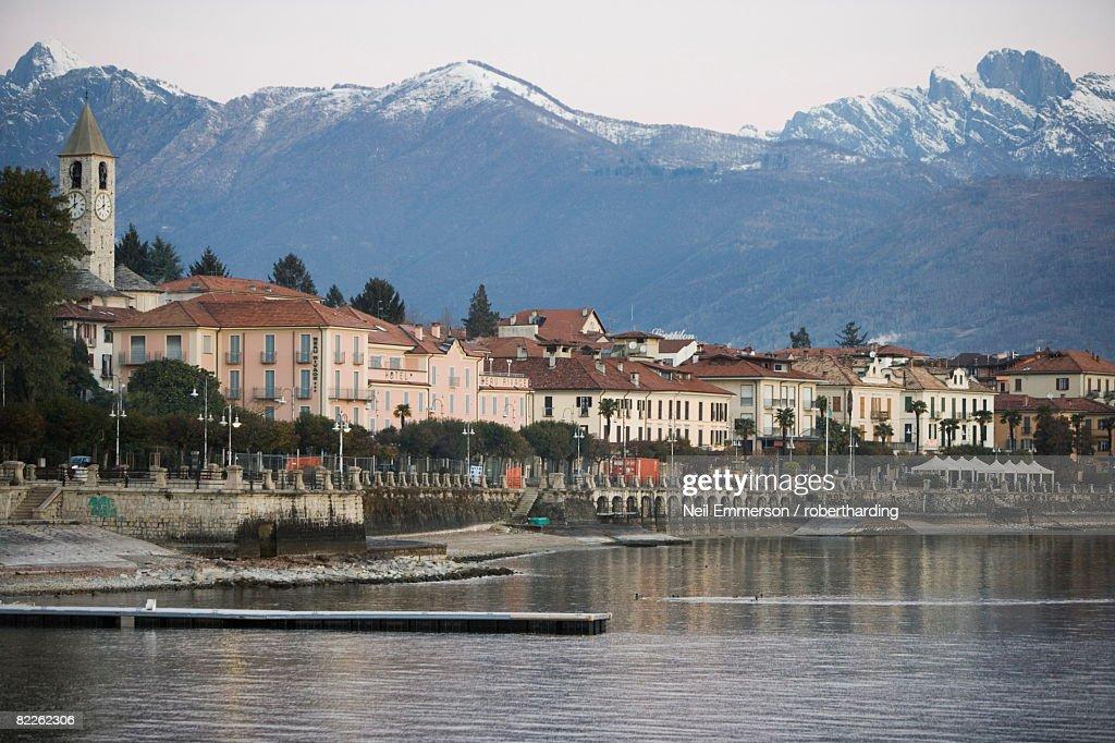 Baveno, Lake Maggiore, Piedmont, Italian Lakes, Italy, Europe : Stock Photo