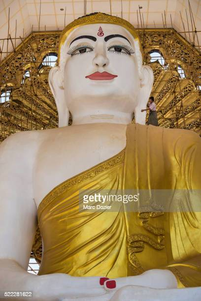 baw-di-pa-khi-ya buddha - naypyidaw stock pictures, royalty-free photos & images