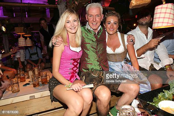 P Baxxter and Lysann Geller during the Oktoberfest at Theresienwiese on September 30 2016 in Munich Germany