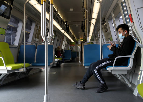 CA: BART Cuts Train Service In Bay Area During Coronavirus Shutdown