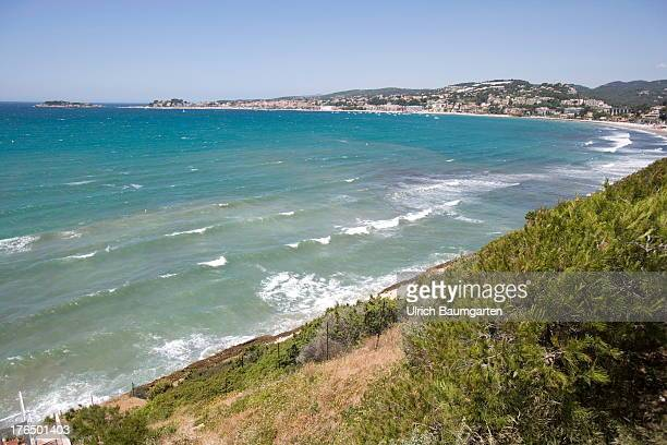 Bay at Bandol on June 22 2013 near Bandol Cote d'Azur France