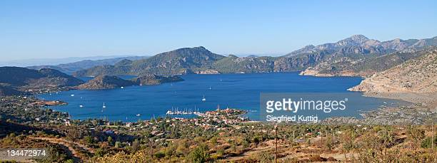Bay at Selimiye, Turkish Aegean, Turkey, Asia
