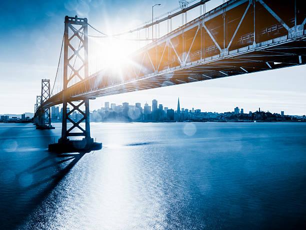 Bay Bridge And Skyline Of San Francisco Wall Art