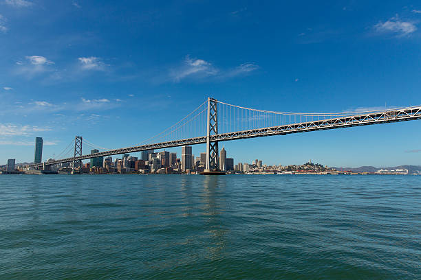 Bay Bridge and the San Francisco business district