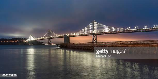 Bay Bridge Night View - San Francisco
