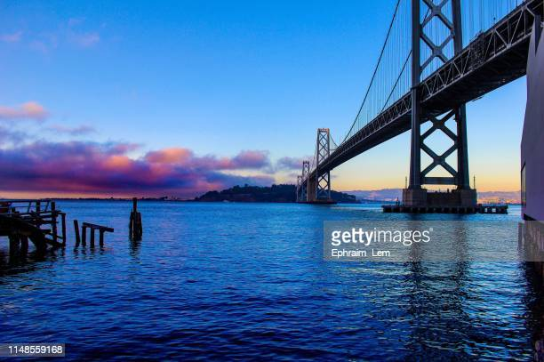 bay bridge - ephraim lem stock pictures, royalty-free photos & images
