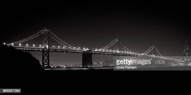 bay bridge - chris putnam stock pictures, royalty-free photos & images