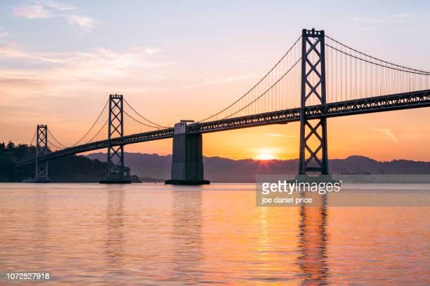 bay bridge, san francisco, california, america - oakland bay bridge stock pictures, royalty-free photos & images