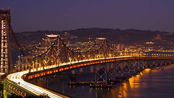 Bay Bridge's S-curve - San Francisco Wall Art