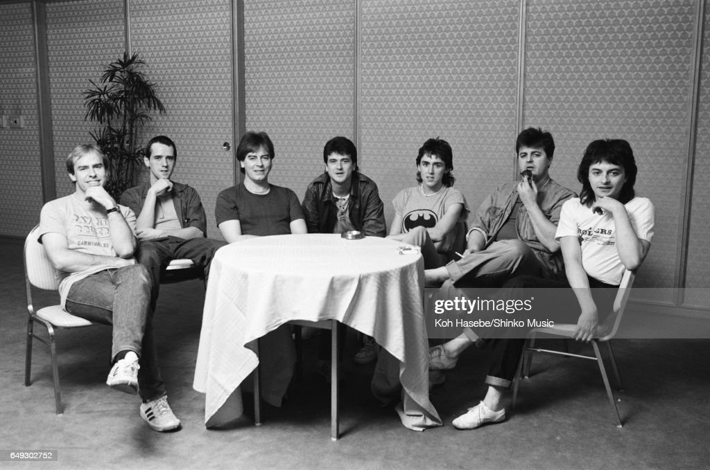 Bay City Rollers At Press Conference : News Photo