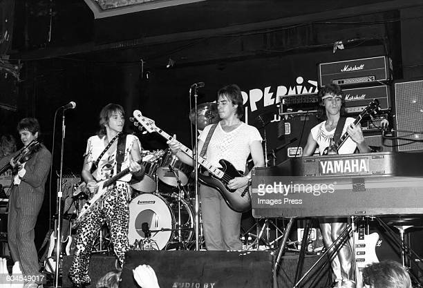Bay City Rollers at the Peppermint Lounge circa 1981 in New York City