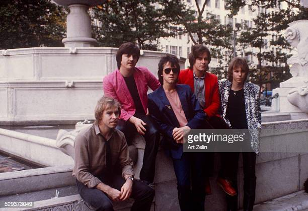 Bay City Rollers at the Plaza Hotel circa 1970 New York