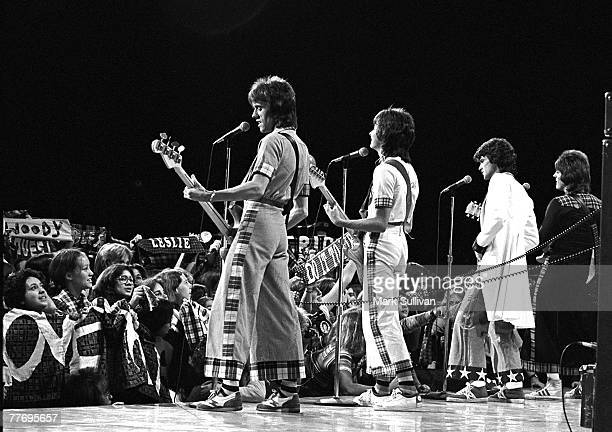 Bay City Rollers during Midnight Special taping at NBC studios Burbank CA 1977 Various Locations Mark Sullivan 70's Rock Archive