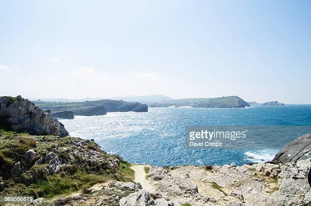 Bay coastline
