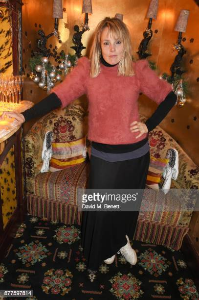 Bay Garnett attends the Nick Cave The Bad Seeds x The Vampires Wife x Matchesfashioncom party at Loulou's on November 22 2017 in London England