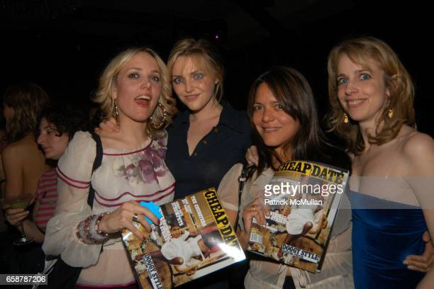 Bay Garnett Sophie Dahl Olga Liriano Sandy attend Bay Garnett party for the magazine CHEAP DATE at Marquee on February 7 2004 in New York City
