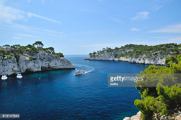 A bay in Cassis.