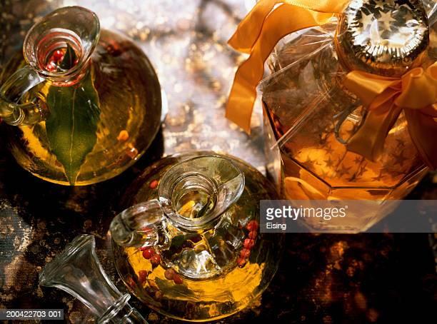 Bay Leaf and Pepper Oil; Lemon Vinegar