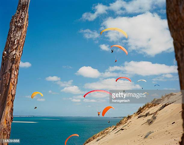 bay of arcachon - aquitaine stock photos and pictures