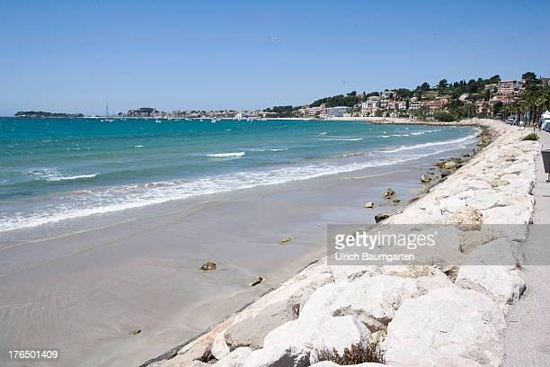 Bay of Bandol on June 22 2013 in Bandol Cote d'Azur France