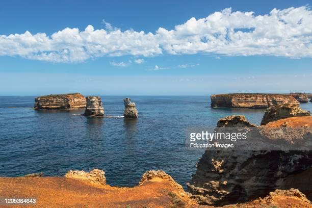Bay of Islands in the Bay of Island Coastal Park Great Ocean Road Victoria Australia